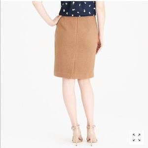 J. CREW Pencil skirt in double-serge wool